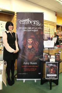 Me at my first book signing!